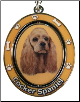 Cocker Spaniel, Buff - Dog Key Chain by E&S Imports (SKU: ES-KC78)