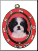 Shih Tzu, Puppy Cut, Dog Key Chain by E&S Imports (SKU: ES-KC87B)