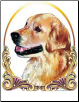 Kathleen Sepulveda Dog Breed Tote - Golden Retriever