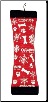 Holiday Fire Hose Squeak'n Fetch Medium & Large Dog Toy by Kyjen