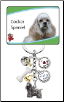 6 Charm Cocker Spaniel Key Chain by Little Gifts