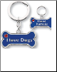 Dog/Owner Key Chain Charm Sets by Little Gifts