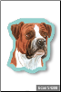 Sticky Notes - Boxer, Dog, Puppy, Note Pad by Little Gifts