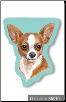 Sticky Notes - Chihuahua, Dog, Puppy, Note Pad by Little Gifts