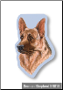 Sticky Notes - German Shepherd, Dog, Puppy, Note Pad by Little Gifts