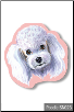 Sticky Notes - Poodle, Dog, Puppy, Note Pad by Little Gifts