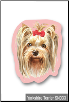 Sticky Notes - Yorkshire Terrier, Yorkie, Dog, Puppy, Note Pad by Little Gifts