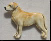 Handcrafted Labrador Retriever Pin (SKU: HP-LR626)