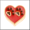 Charms - Paws in Heart (SKU: MJL-1012)