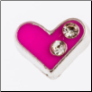 Charms - Pink Heart (SKU: MJL-15014)