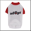 Casual Canine Adopt Dog Tee Shirt