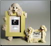 Photo Frame & Magnet Frame Set - Poodle (White)