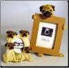 Pug Photo Frame & Magnet Set