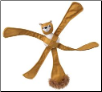 Pentapulls Squirrel - Interactive Dog Toy