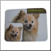 Pomeranian Mouse Pad & Coasters Set by Little Gifts
