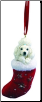 Poodle Holiday Ornament (SKU: DBORN-Poodle)