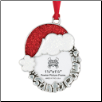 Santa Paws - Pewter Photo Ornament