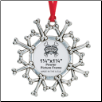 Dog Bones - Pewter Photo Ornament (SKU: RD-5947)