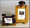 Photo Frame & Magnet Frame Set - Rottweiler (SKU: DB-RottwFF)