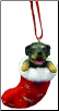 Rottweiler Holiday Ornament