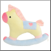 New Puppy Rocking Horse Plush Toy by Ruff Ruff Couture (SKU: DBToy-RockHorse)