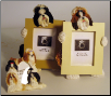 Photo Frame & Magnet Frame Set - Shih Tzu (Brown or Black)