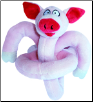 Pig Sound Plush Talking Dog Toy by Loopies / Swag