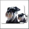 Schnauzer Mouse Pad & Coasters Set by Little Gifts