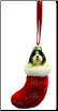 Shih Tzu Holiday Ornament