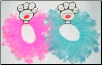 Party Collar or Tutu - Crown (Pink Or Blue)