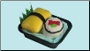 Sushi Pups 2 Piece Inside-Out Roll & Tamago Plush Dog Toys