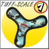 Tuffy Toy Ultimate Bowmerang - Camo Blue or Red Paws