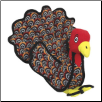 Talulah Turkey Barnyard Series Dog Toy