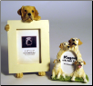 Labrador Photo Frame & Magnet Frame Set (SKU: DB-LABYellowFF)