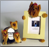 Photo Frame & Magnet Frame Set - Yorkie (SKU: DB-YorkieFF)