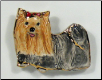Handcrafted Yorkshire Terrier Pin