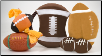 Football Tug 'n Dog Toys (SKU: DB-footballtugntoys)