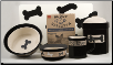 City Pets Dog Bowls & Treat Jar