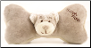 Organic Plush Bear Bone