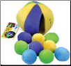 Tiny Pockets with Balls Dog Toy by Loopies