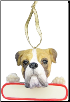 Boxer Holiday Personalized Ornament