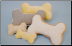 Organic Plush Bone with Squeaker - Small & Large