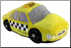 NYC Yellow Taxi Plush Dog Toy by Haute Diggity Dog