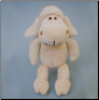 Organic Plush Lamb - Small & Large (SKU: DBTOY-OrgPlushLamb)