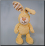 Organic Plush Rabbit - Small & Large (SKU: DBTOY-OrgPlushRabbit)
