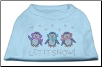 Rhinestone Let It Snow Dog Holiday T-Shirt, Bandana or Hoodie (SKU: DBTEE-LetItSnow)