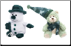 Green Frostibles Snowman and Brr Brr Bear