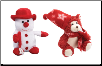 Red Frostibles Snowman and Brr Brr Bear