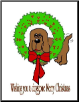 """Doggone Merry Christmas"" Christmas Cards (SKU: DBGC-CC105)"