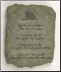 I Gave, You Gave Pet Memorial Stone or Plaque